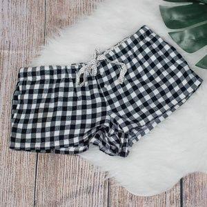 Aero plaid shorts